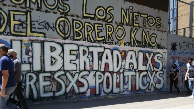 «Presos de la revuelta»: razones para una amnistía o indulto general