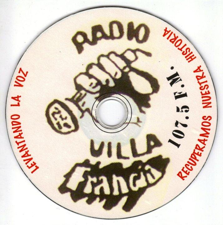 Disco grabado en la década del 90